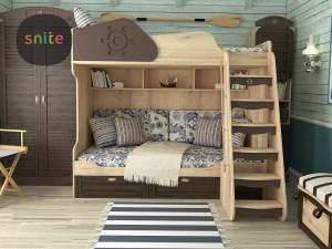 Купить двухъярусную кровать в Киеве