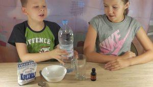 Опыт с йодом и крахмалом