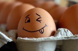 Домашний опыт для детей с яичной скорлупой